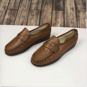 76e3987cd9d SAS Shoes - SAS Womens Comfort Penny Loafers Leather Tan 8